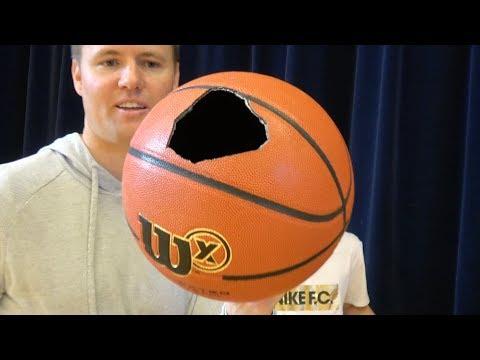 What's inside a Wilson X Basketball?