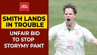 Steve Smith Scuffs Up Rishab Pant's Guard Mark | <b>India Vs Australia</b> ...