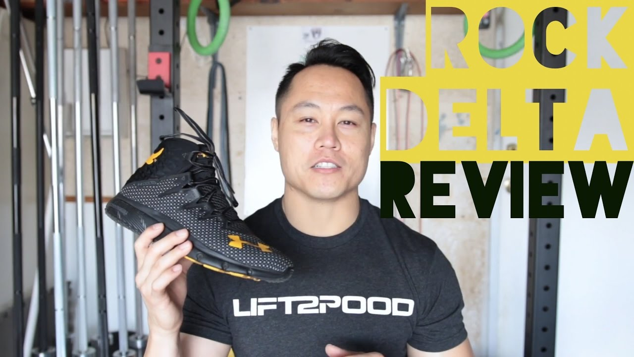 cbff97bc2b91 Under Armour Project Rock Delta Shoe Review (Highlight Delta) - YouTube