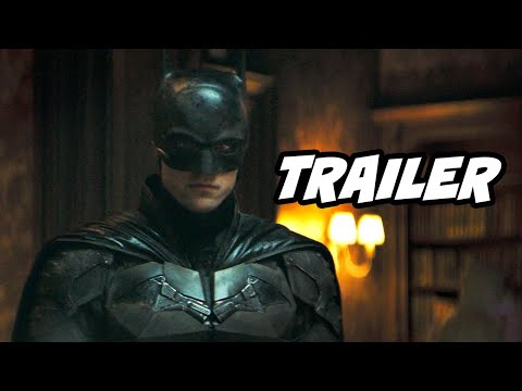 The Batman Trailer 2021 – Court of Owls and Batman Movies Easter Eggs Breakdown
