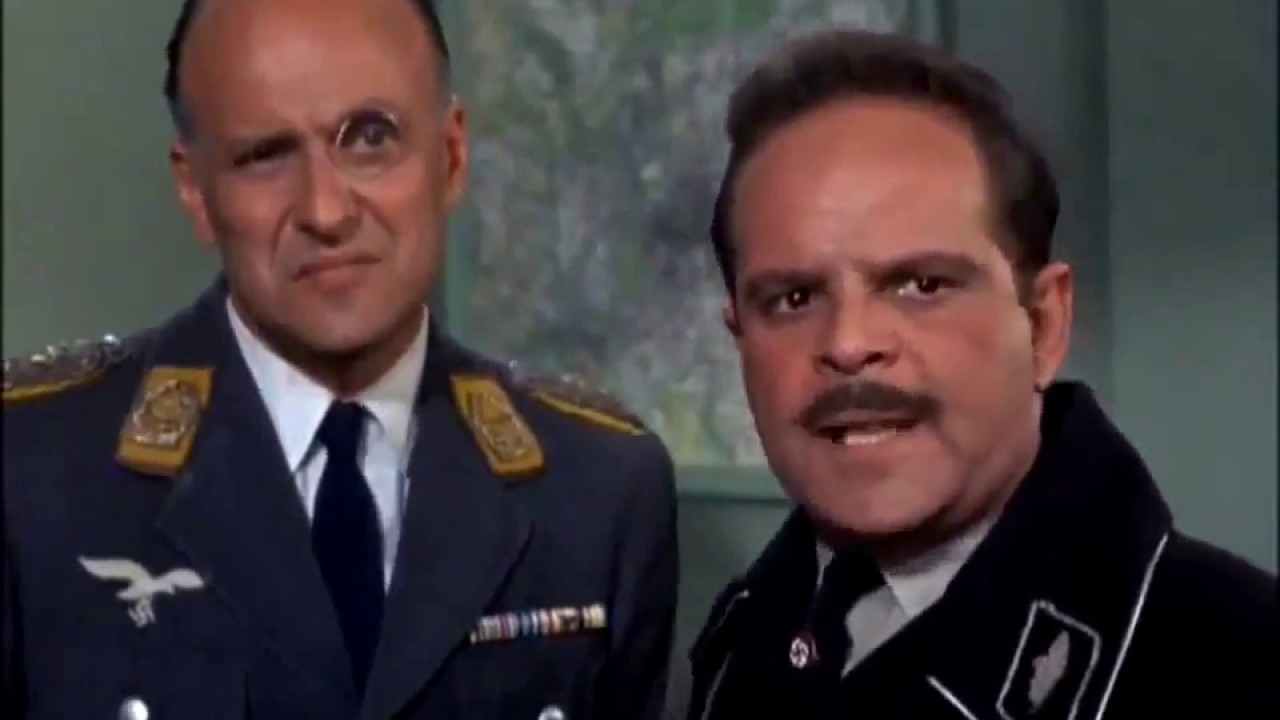 Hogans Heroes Scene With Maj Hochstetter Col Klink And Sgt
