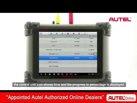 How to use ECU programming on Autel Maxisys Pro