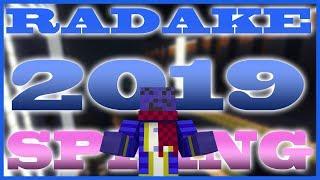 【マインクラフト】多人数参加型アスレ「RADAKE 2019spring」【Minecraft】
