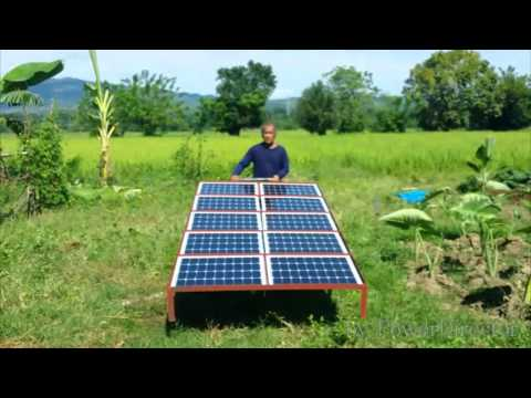 Solar Deep Well Water Pumping Philippines Youtube