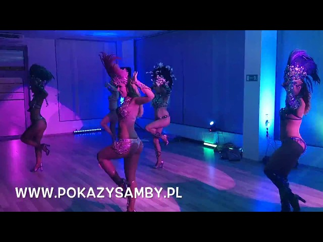 Tancerki samby 100% Samba Show! Pokaz samby na evencie firmowym