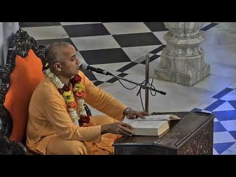 Evening Bhagavad Gita Class 02 19 by  Brahama Samita  Prabhu on 9th Mar 2018 At ISKCON Juhu