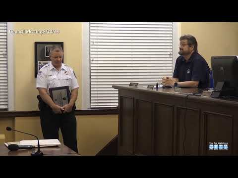 McInerney was appointed in October 2016 as Interim Executive Officer – and played a key role in the reorganization of the department, Police Chief Dean Ackermann said.