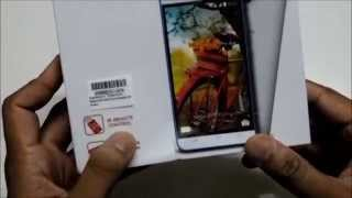 Hindi Karbonn Titanium Mach Five Unboxing and physical overview Budget Phone packed with specs