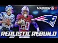 Rebuilding The New England Patriots | Bryce Love + No Tom Brady | Madden 18 Connected Franchise