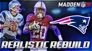Rebuilding The New England Patriots   Bryce Love + No Tom Brady   Madden 18 Connected Franchise