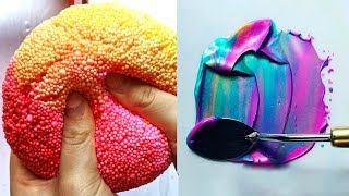Most Satisfying Slime Videos In The World! 🍰 New Oddly Satisfying Compilation