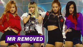 [MR REMOVED] 160814 BLACKPINK - WHISTLE(휘파람) @ SBS INKIGAYO