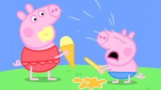 Peppa Pig in Hindi - Very Hot Day - Garmi ka Din - हिंदी Kahaniya - Hindi Cartoons for Kids