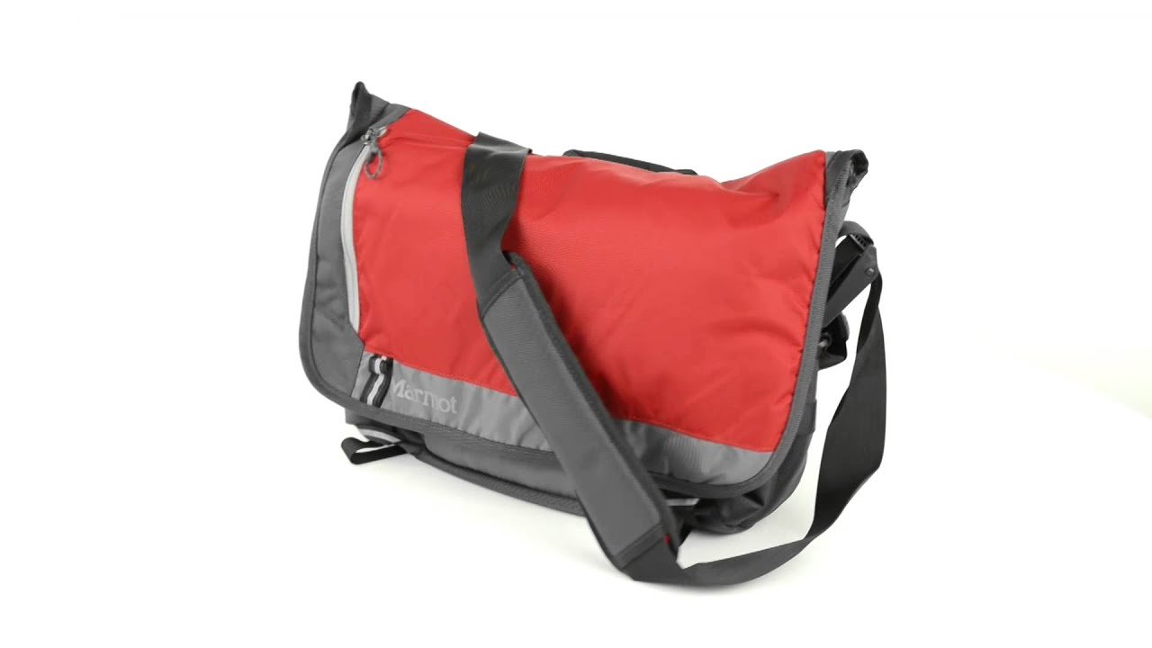 Marmot Urban Messenger Bag - YouTube