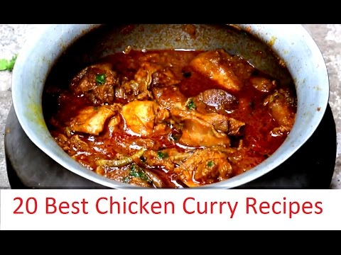 20 Best Chicken Curry Recipes 20 Types Of Preparations Youtube