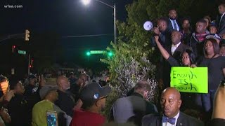 Protests in Fort Worth after Atatiana Jefferson killed in her own home