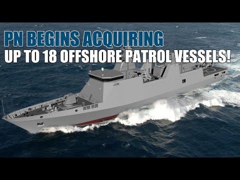 GOOD NEWS! The Philippine Navy begins acquiring Dozens of Offshore Patrol Vessels (OPV)