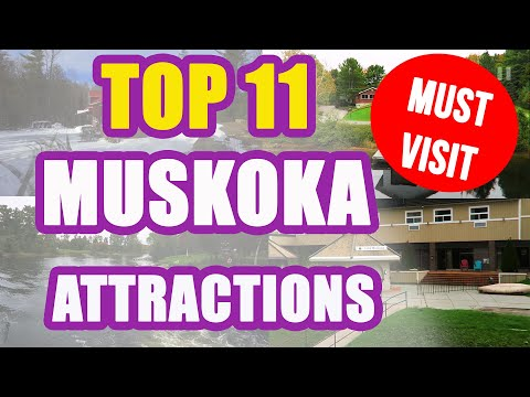 TOP 11 MUSKOKA Attractions - Things To Do