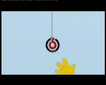 TV6 idents Simpsons
