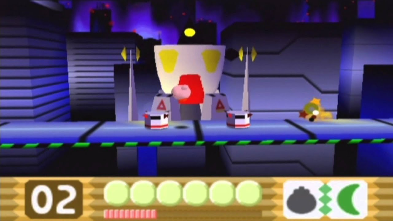 3d Wallpaper Mario Kirby 64 The Crystal Shards All Main Bosses Youtube