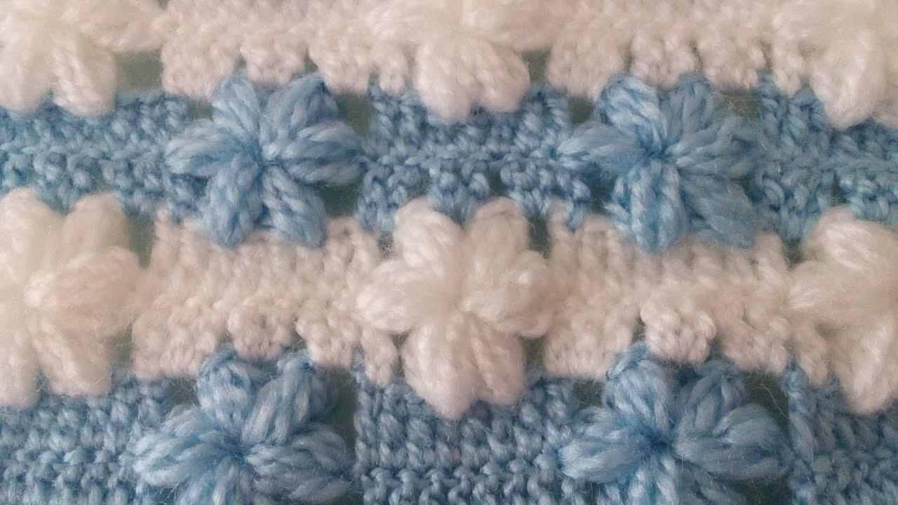 İnci Çiçekli Bebek Battaniyesi