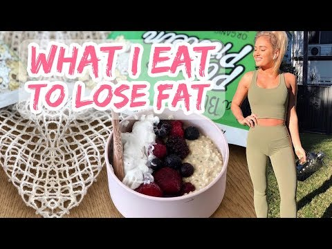 What I Eat In A Day To Lose Fat II Counting 1800 Calories