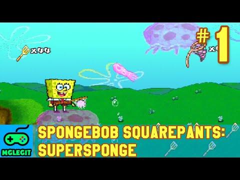 SpongeBob SquarePants SuperSponge Walkthrough Part 1 - Jelly Fields (PS1) (No Commentary)