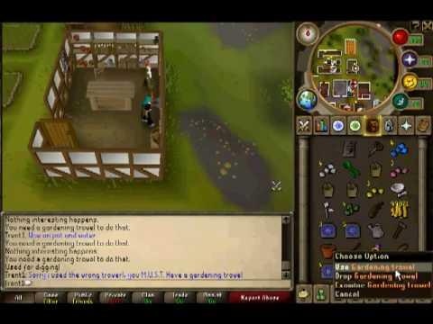 Runescape Garden Of Tranquility Quest Guide Trent1 Youtube