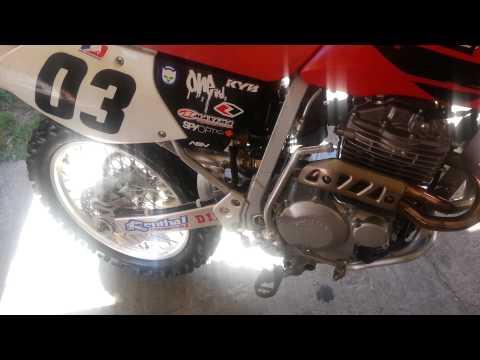 Honda XR250R 2001