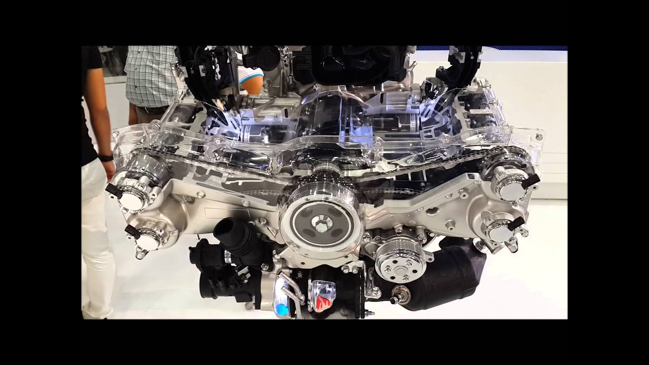Subaru Boxer Engine >> Subaru Boxer Motor - YouTube