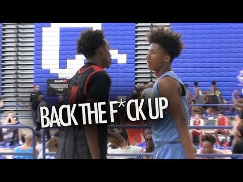 Mikey Williams GETS HEATED In Showcase Game Vs LA CITY SQUAD