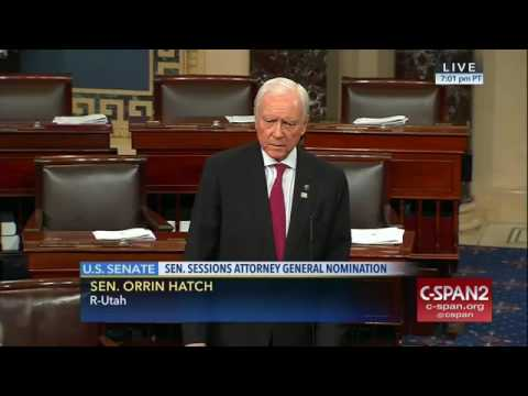 Sen. Orrin Hatch on colleague Elizabeth Warren