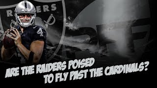 Are the Raiders poised to fly past the Cardinals and the Rams chances now in LA | PFF