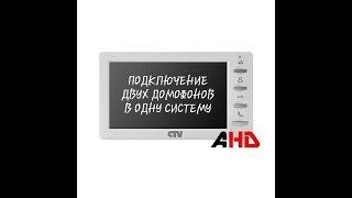 Купить Комплект цветного видеодомофона CTV-DP701 в Москве