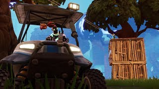 🚗 Only ATK (Carrito de golf) | El paseico del ratilla pacifista | Fortnite comentado por WOMFIBC
