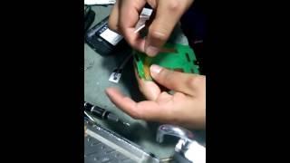 Reparación de señal de alcatel