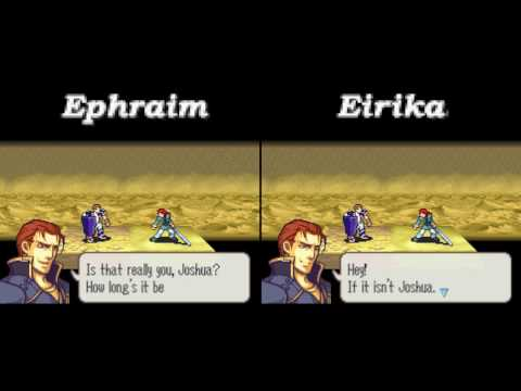 Fire Emblem The Sacred Stones - Route Comparisons