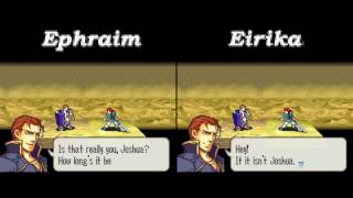 Fire Emblem: The Sacred Stones — Route Comparisons