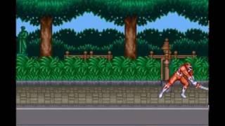 SUPER Nintendo ENTERTAINMENT SYSTEM: MIGHTY MORPHIN POWER RANGERS