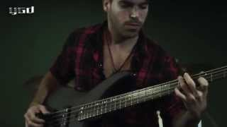 Miki Santamaria - Yamaha TRBX 504 Bass Demo - Active and Passive Settings