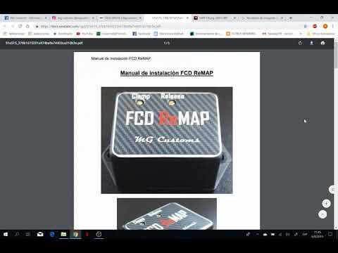 Como Instalar Y Calibrar El FCD Remap De MG Customs (Parte 1)