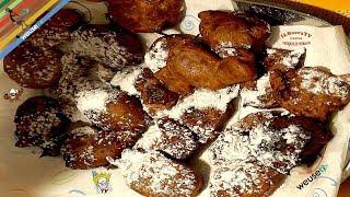 29 - Frittelle di farina dolce...e poi un bel ponce! (ricetta di carnevale tipica toscana facile)