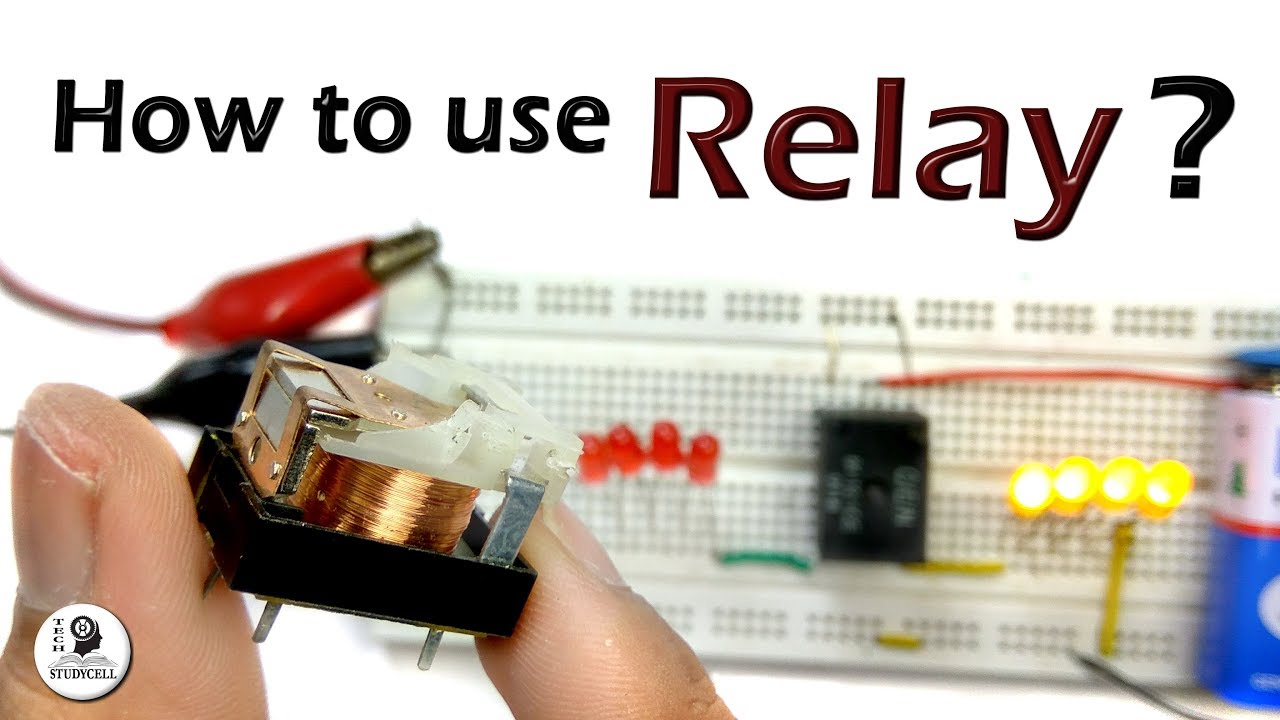 How To Use A Relay In Circuit And How A Relay Works