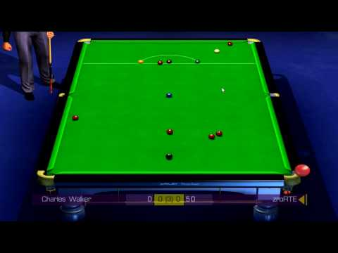 WSC Real 2009: World Snooker Championship PC - Gameplay #2 [HD]