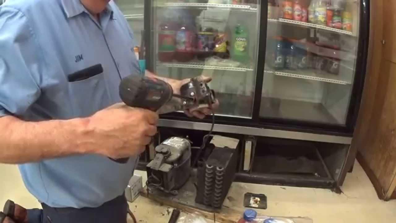 Replace A 9 Watt Condenser Fan Motor Youtube