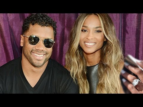 Ciara Flaunts Her Massive Ring in First Post-Engagement Event With Fiance Russell Wilson