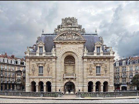 Places To See In Lille France Porte De Paris Youtube