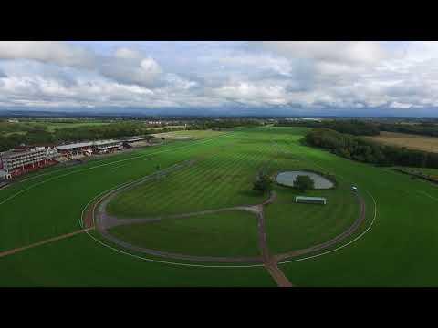 Hay bales & race courses. Phantom 3 Advanced.