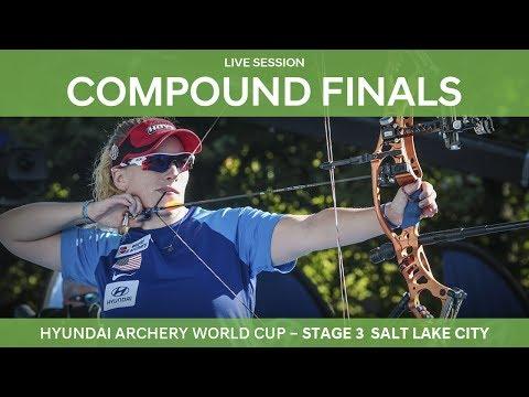 Full session: Compound Finals | Salt Lake City 2017 Hyundai Archery World Cup S3