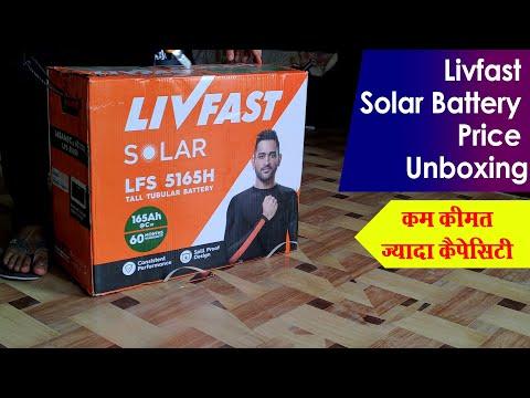 Livfast Solar Battery